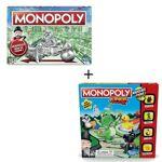 AUCUNE Lot de deux jeux Monopoly - Version Classique et Junior Lot de... par LeGuide.com Publicité