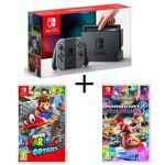nintendo  NINTENDO Console Nintendo Switch avec paire de Joy-Con gris +... par LeGuide.com Publicité