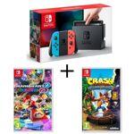 nintendo  NINTENDO Pack Nintendo Switch Néon + Crash Bandicoot N. Sane... par LeGuide.com Publicité