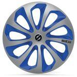 sparco  SPARCO 4 Enjoliveurs 16 Pouces Sicilia Argent et Bleu Fans de sport... par LeGuide.com Publicité