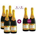 AUCUNE 4 achetées + 2 offertes - Champagne Charles de Cazanove Arlequin... par LeGuide.com Publicité