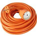 AUCUNE Rallonge électrique de jardin câble HO5VVF 2x1.5mm2 orange 40m... par LeGuide.com Publicité