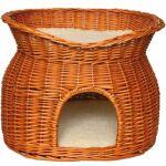 trixie  TRIXIE Panier osier avec lit au dessus et 2 coussins 54 × 43 ×... par LeGuide.com Publicité