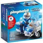 playmobil  PLAYMOBIL 6923 - City Action - Moto de Policier avec Gyrophare... par LeGuide.com Publicité