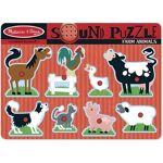 melissa & doug  MELISSA & DOUG Puzzle Sonore - Animaux De La Ferme... par LeGuide.com Publicité