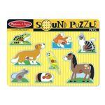melissa & doug  MELISSA & DOUG Puzzle Sonore - Animaux Domestiques... par LeGuide.com Publicité