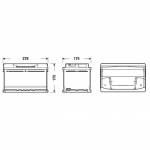 fulmen  FULMEN Batterie auto FORMULA FB712 (+ droite) 12V 71AH 670A FULMN... par LeGuide.com Publicité