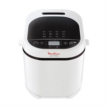 Moulinex Machine à pain blanche 720 W 12 programmes coloris blanc OW210130 Moulinex