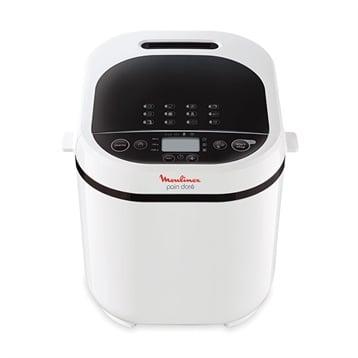 Moulinex Machine à pain blanche 720 W 12 programmes coloris blanc OW210130 Moulinex