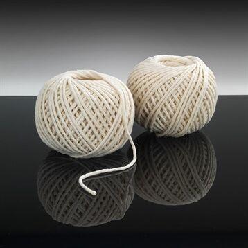 Set 2 bobines ficelles alimentaire 100% coton 2 x 40 m