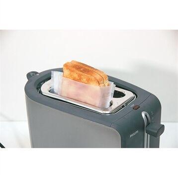 Set de 2 sachets cuisson grille-pain