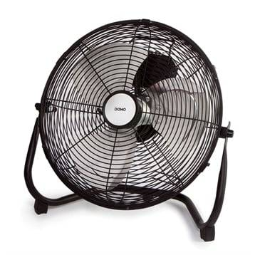 Domo Ventilateur de sol inclinable 65 W DO8134 Domo