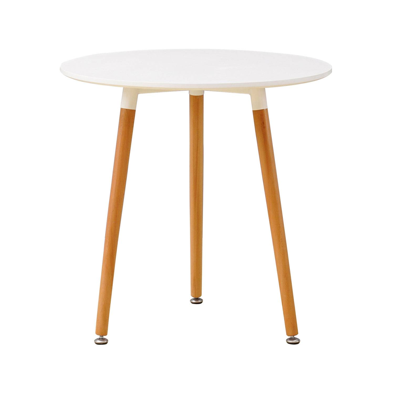 Happy Garden Table ronde scandinave ANOUK blanche