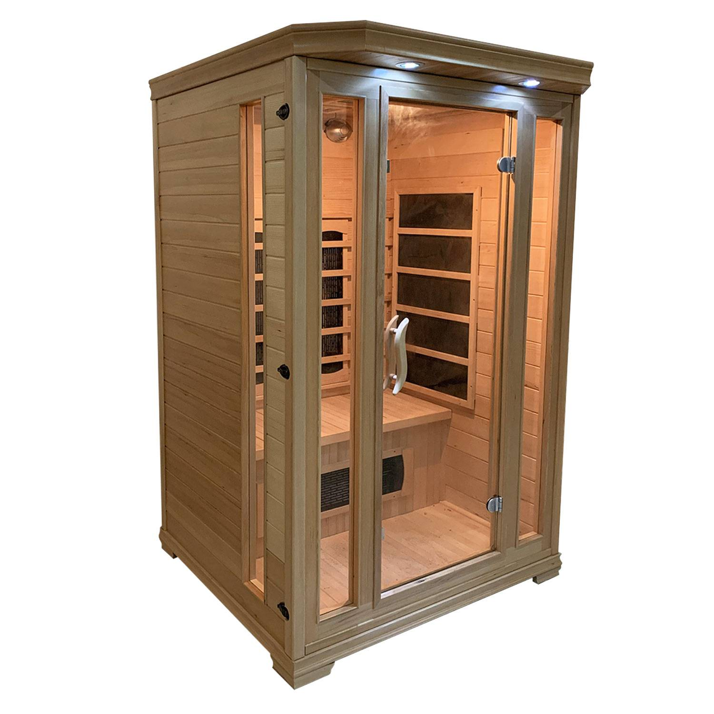 Happy Garden Sauna infrarouge HELSINKI 2 places