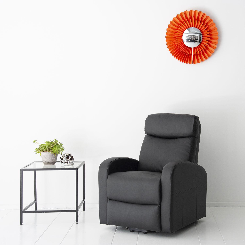 Happy Garden Fauteuil électrique inclinable GABY noir