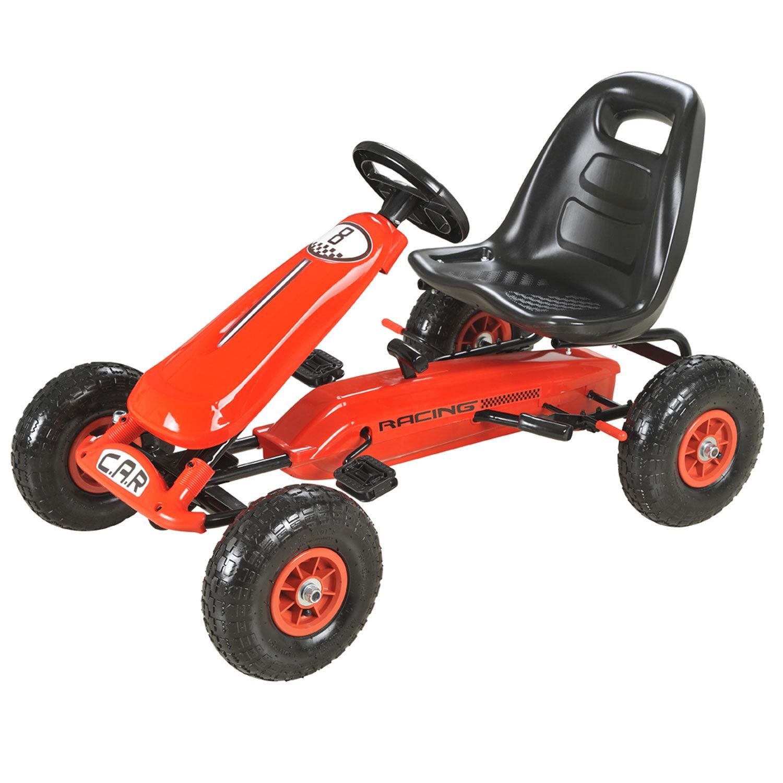 Happy Garden Kart à pédales LEWIS - rouge