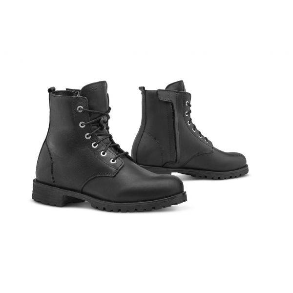 Forma Chaussures Moto Forma Urban En Cuir Imperméable Lady CRYSTAL Noir Taille Chaussures:39