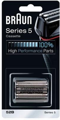 Braun cassette (noire series 5 52s) rasoir 81384829