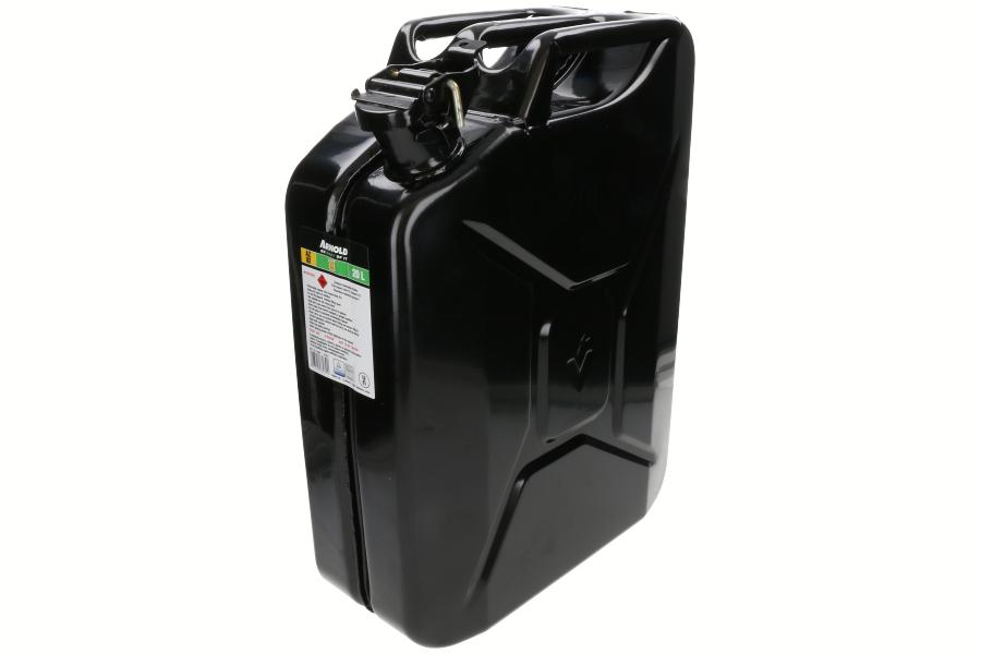 Jerrican métal (20L, noir) 6011-X1-2002