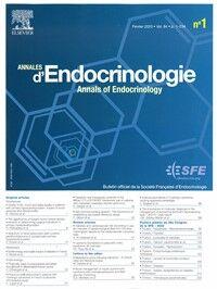 Annales d'Endocrinologie - Abonnement 12 mois