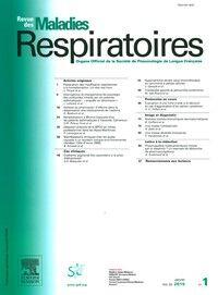 Revue des Maladies Respiratoires  - Abonnement 12 mois