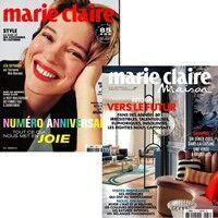Marie Claire + Marie Claire Maison - Abonnement 12 mois
