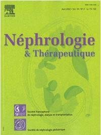 Nephrologie et Thérapeutique - Abonnement 12 mois