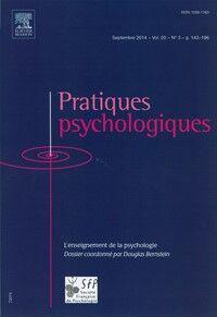 Pratiques Psychologiques  - Abonnement 12 mois