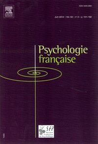 Psychologie Française  - Abonnement 12 mois
