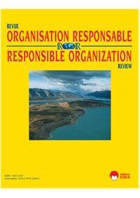Revue Organisation Responsable - Abonnement 12 mois
