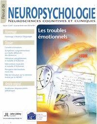 Revue de Neuropsychologie - Abonnement 12 mois