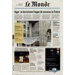 MDQ-104865 Le Monde livré tous les jours chez vous - Economisez jusqu'à... par LeGuide.com Publicité