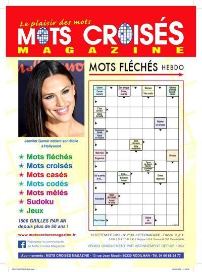 Mots Croisés Magazine