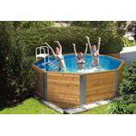 weka  Weka Piscine Bois Hors-Sol Trinidade 7,5 m3 D3,25m Votre piscine... par LeGuide.com Publicité