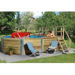weka  Weka Piscine Bois Hors-Sol Madeira + Kit 18,2 m3 D5 Votre piscine... par LeGuide.com Publicité