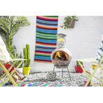 la hacienda  La Hacienda. Braséro Cheminée Mexicaine El Sol Large La cheminée... par LeGuide.com Publicité