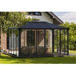 palram  Palram Jardin d?Hiver en Aluminium et Polycarbonate 13 m² ? LEDRO... par LeGuide.com Publicité