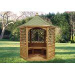 habrita  Habrita Pavillon Hexagonal Élégant avec Shingle Vert Votre pavillon... par LeGuide.com Publicité