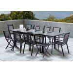 wilsa  Wilsa Salon de Jardin HPL Star: Table Extensible + 6 Fauteuils... par LeGuide.com Publicité