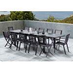 wilsa  Wilsa Salon de Jardin HPL Star : Table Extensible + 8 Fauteuils... par LeGuide.com Publicité