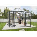 palram  Palram Serre de Jardin Hexagonale Aluminium/Polycarbonate Oasis... par LeGuide.com Publicité