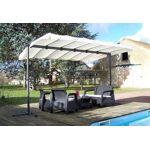habrita  Habrita Tonnelle en Acier et Aluminium + Toile Orientable 90°... par LeGuide.com Publicité