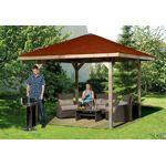 weka  Weka Tonnelle Bois Paradies 2 (333x333)+kit La tonnelle Paradies... par LeGuide.com Publicité