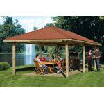 weka  Weka Tonnelle Bois Vario L (333x584)+kit La tonnelle de jardin de... par LeGuide.com Publicité