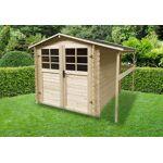 solid  Solid Abri de Jardin en Bois avec Bûcher 19 mm 4m² L?abri de jardin... par LeGuide.com Publicité