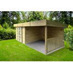solid  Solid Abri de Jardin Bois Arhus 28mm (656 x 241cm) Votre abri de... par LeGuide.com Publicité