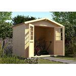 weka  Weka Abri de Jardin en Bois d?Épicéa WekaLine 6,1 m² (3 Coloris)... par LeGuide.com Publicité