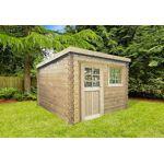 solid  Solid Abri de Jardin en Bois Nevers 28mm (238x238cm) L?abri de jardin... par LeGuide.com Publicité