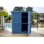 habrita  Habrita Armoire de Jardin en Bois Lasuré Bleu 87 x 46,5 x 95 cm... par LeGuide.com Publicité