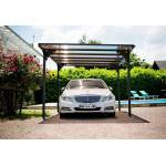 habrita  Habrita Carport en Aluminium Toit Plat (294x500cm) Votre carport... par LeGuide.com Publicité